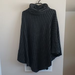 Soft Surroundings Striped Poncho